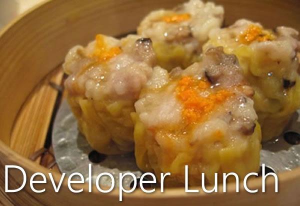 developer lunch