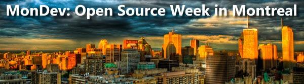 mondev open source week in montreal