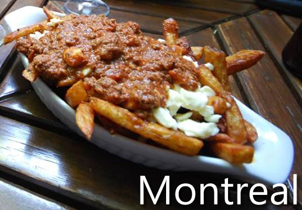 Montreal: photo of poutine
