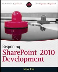 "Cover of ""Beginning SharePoint 2010 Development"""