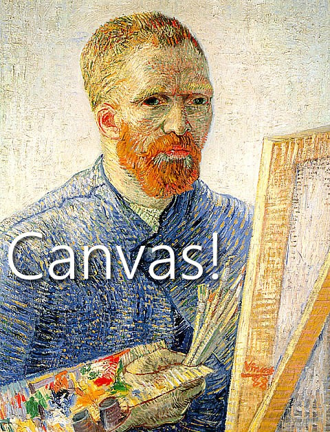 "Vincent Van Gogh: ""Canvas!"""