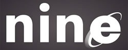 """""""nine"""" spelled using the IE logo for the """"e"""""""