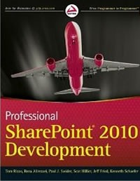 "Cover of ""Professional SharePoint 2010 Development"""