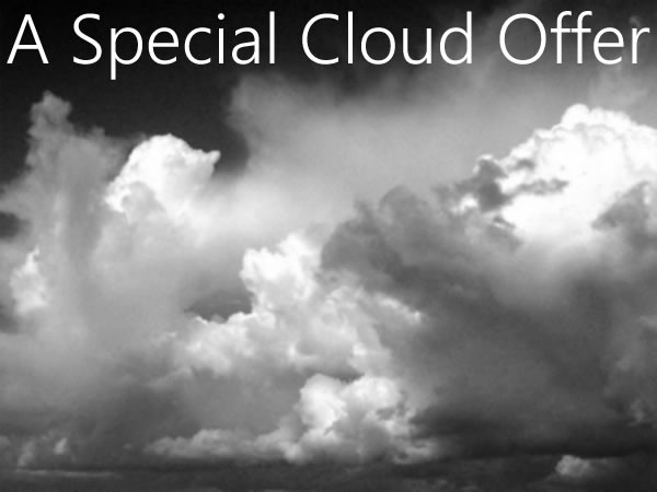 a special cloud offer