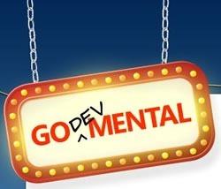 """Go DevMENTAL"" logo"
