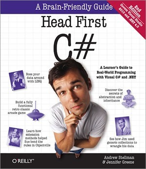 "Cover of the book ""Head First C#"""