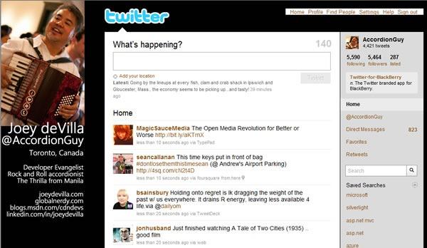 joey devilla twitter page