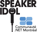 Logo: Speaker Idol - Communaute .NET Montreal