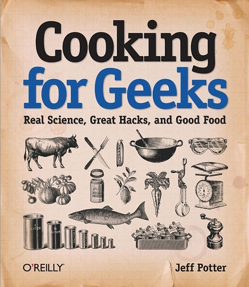 "Cover of ""Cooking for Geeks"""