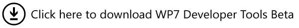 download wp7 dev tools