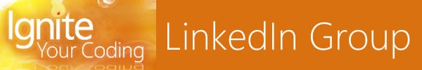 Banner: Ignite Your Coding LinkedIn group