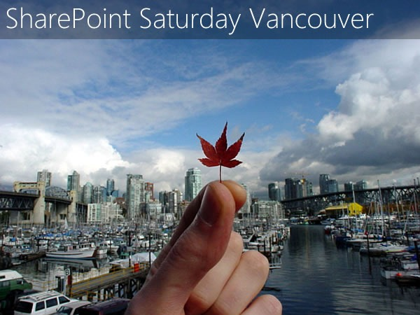 sharepoint saturday vancouver