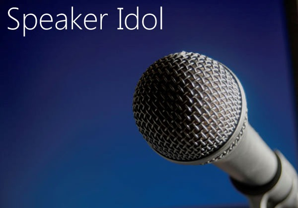 Speaker Idol: photo of microphone