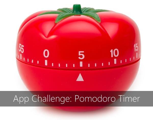 app challenge - pomodoro timer
