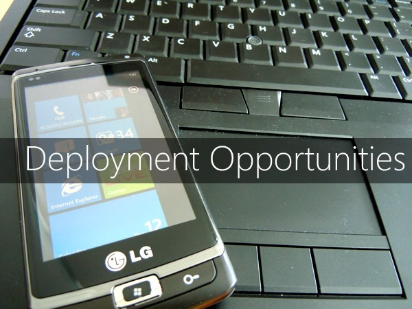 deployment opportunities