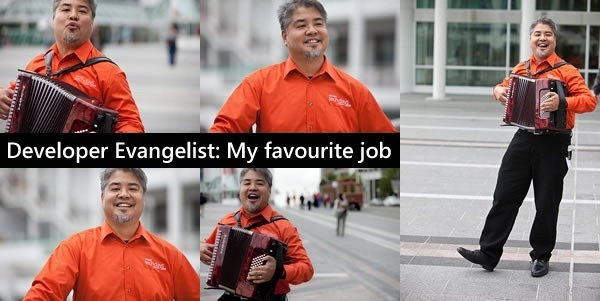 developer evangelist my favourite job