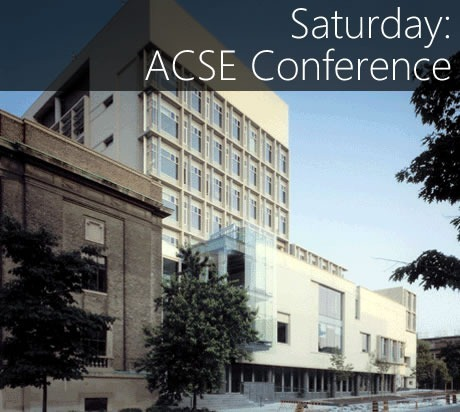 saturday - acse conference