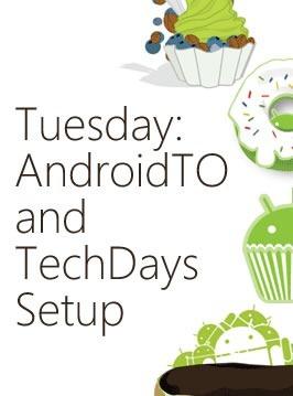 tuesday - androidto techdays