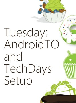 tuesday - androidto techdays