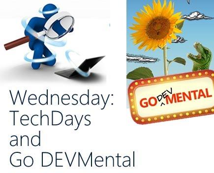 wednesday - techdays godevmental