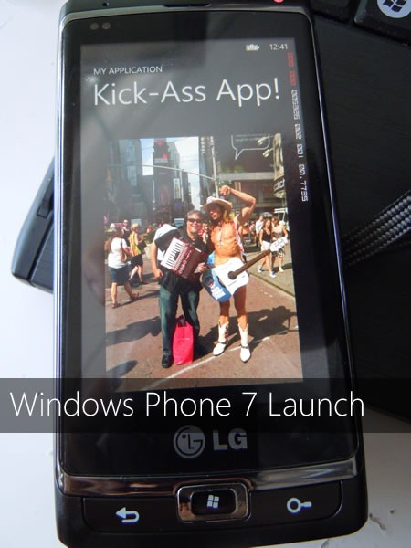 Windows Phone 7 Launch