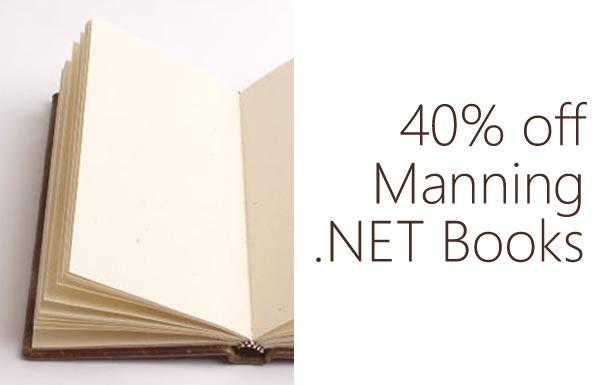 40 percent off Manning NET books