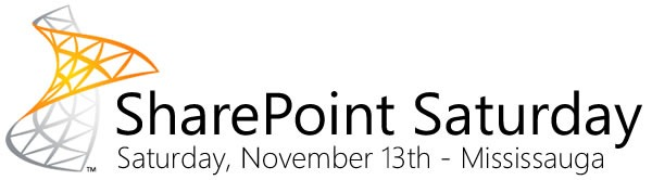 SharePoint Saturday: Saturday, November 13th - Mississauga