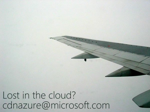 lost in the cloud