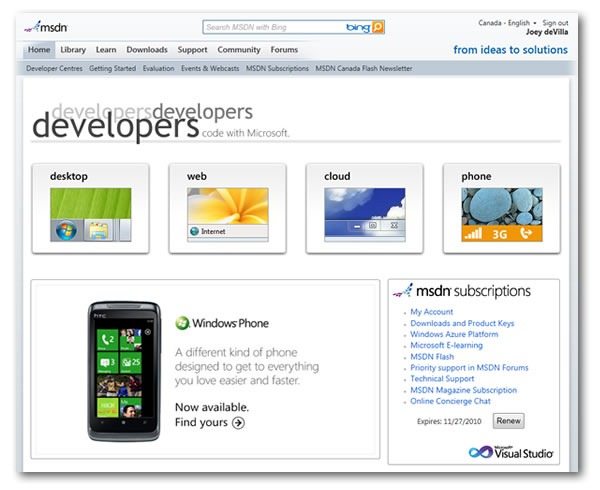 new look msdn 1