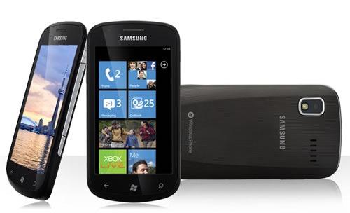 rogers wp7 phone