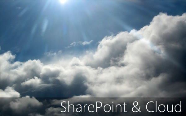 sharepoint and cloud