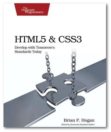 """Cover of """"HTML5 and CSS3: Develop with Tomorrow's Web Standards Today"""""""