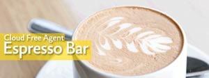 cloud free agent espresso bar