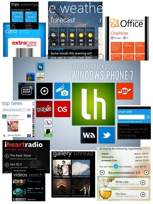 lifehacker wp7 apps