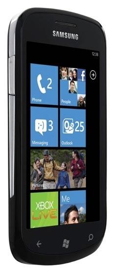 Samsung Focus phone