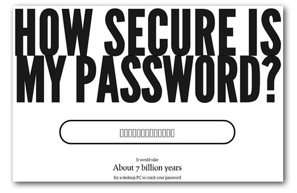 How Secure is My Password? - Global Nerdy: Technology and