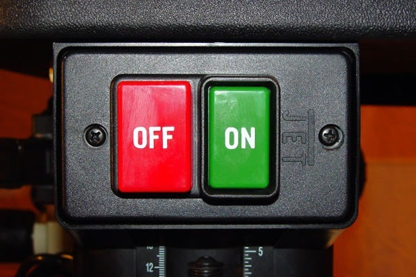 off on button