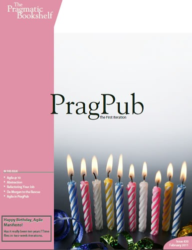 Cover of the Feb 2011 issue of PragPub