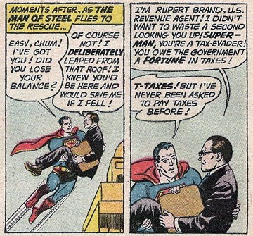 superman vs. tax man