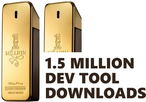 1.5 mill downloads