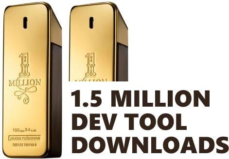 1.5 mill downloads