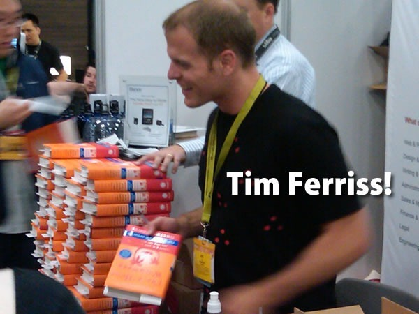 Tim Ferriss!: Tim Ferriss at a book signing