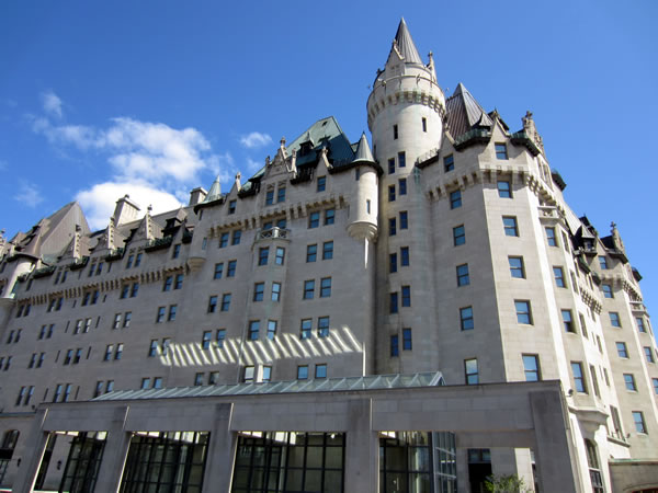 Chateau Laurier, west side