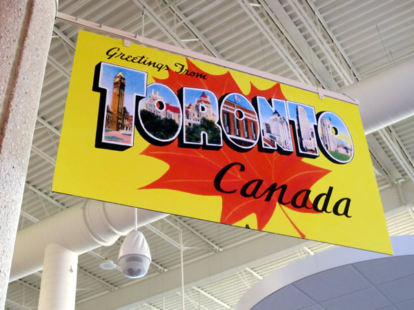 05 greetings from toronto sign