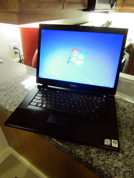 My Dell Latitude E6500 laptop