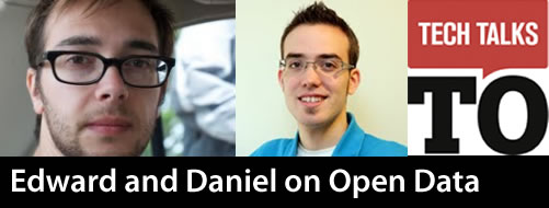 Edward and Daniel on Open Data