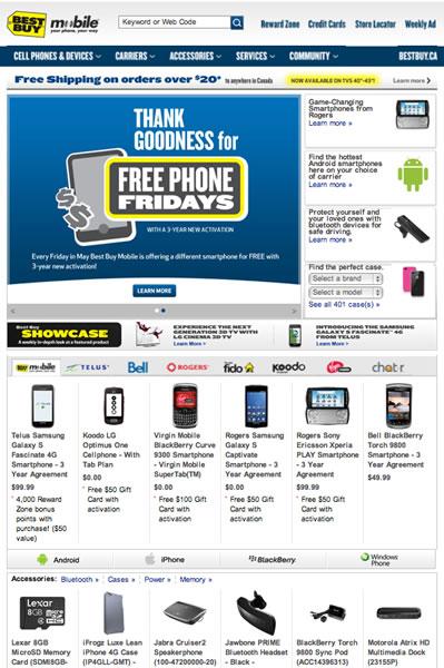 Electronics site