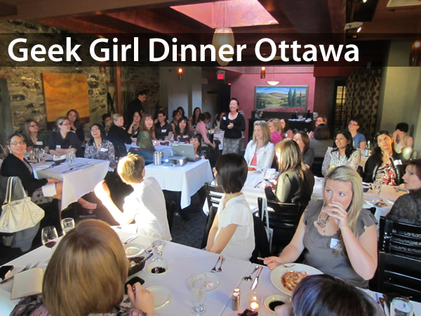 Geek girl dinner ottawa