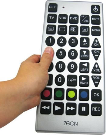 Giant tv remote