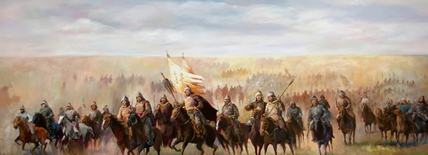 Mongolian army